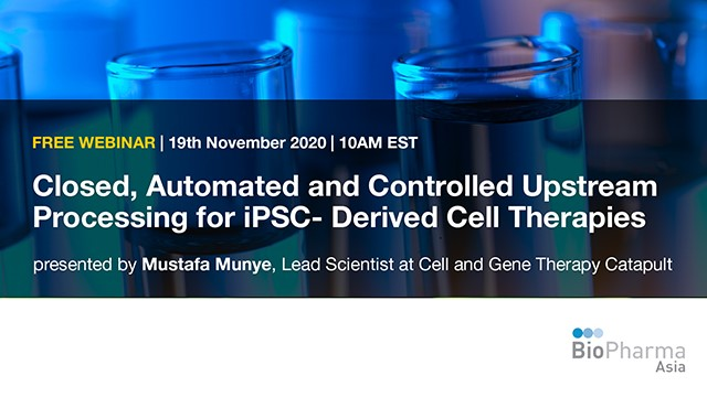 Closed, Automated & Controlled Upstream Processing for iPSC- Derived Cell Ther
