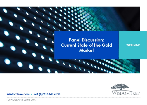 Panel Discussion: Current State of the Gold Market