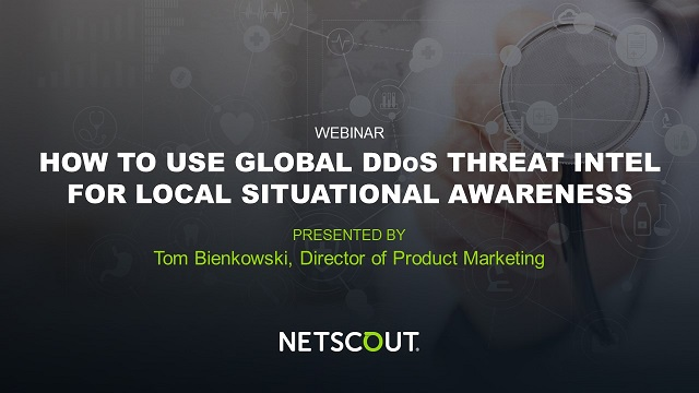 Arbor DDoS Threat Intel for Situational Awareness