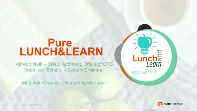 Lunch & Learn: Enterprise Cloud 101
