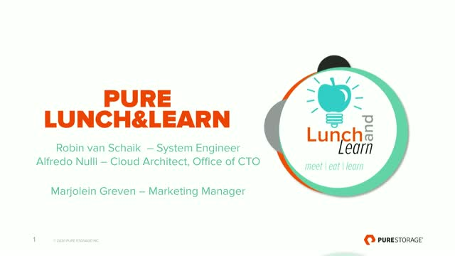 Lunch & Learn: Enterprise Cloud 201