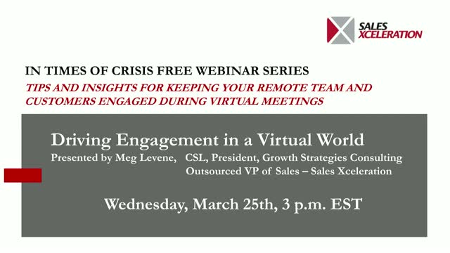 Driving Engagement in a Virtual World