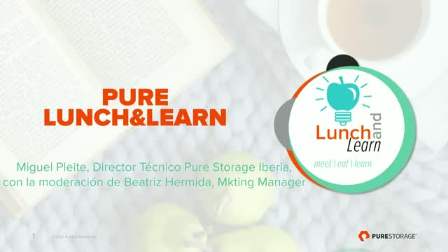 Lunch & Learn: Analytics & Storage 101 [SPANISH]