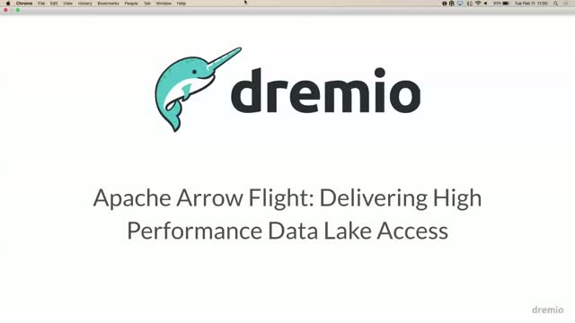 Apache Arrow: Delivering high performance data lake access with Hyperrest