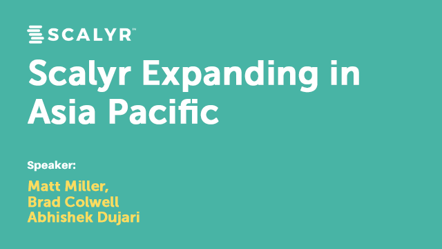 Scalyr Expanding in Asia Pacific