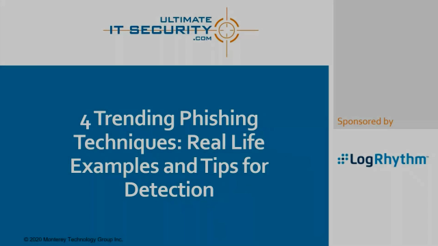 4 current phishing techniques: Real-life examples and tips for detection