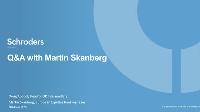 Q&A with Martin Skanberg
