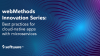 webMethods Innovation Series: Building Cloud-Native Apps with Microservices