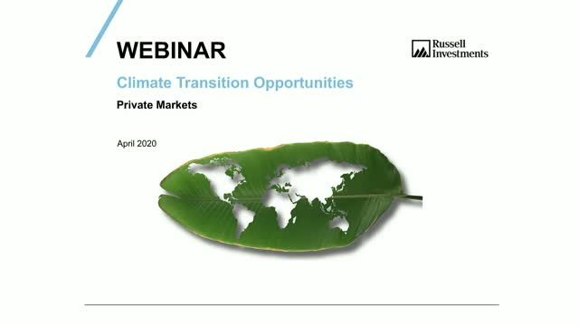 Opportunities within the Climate Transition