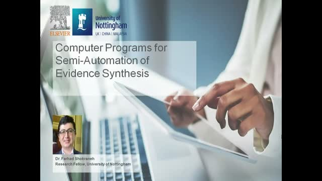 Computer Programs for Semi-Automation of Evidence Synthesis