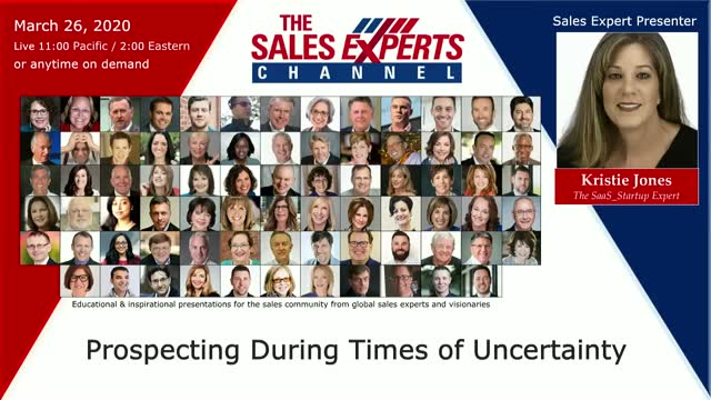 Prospecting During Times of Uncertainty