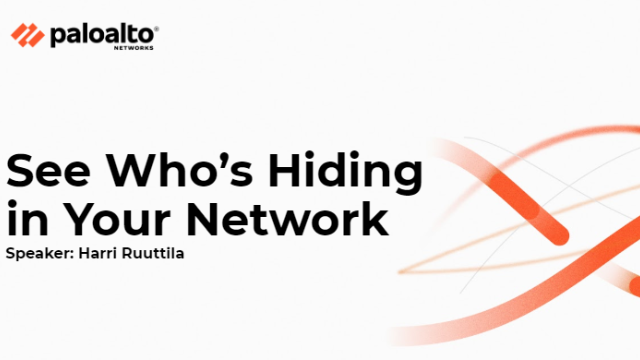 See Who's Hiding in Your Network
