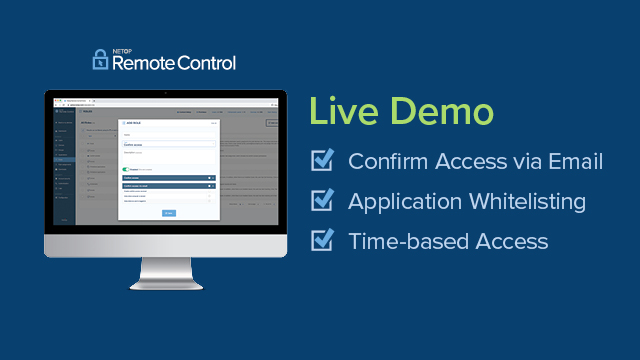 Live Demo: Why Choose Netop for Remote Support?