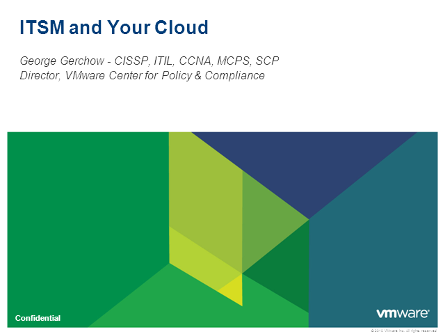 ITSM & Your Cloud