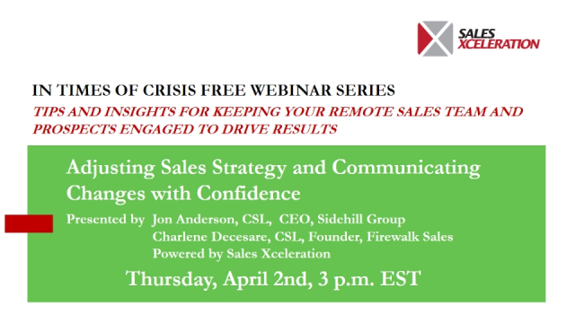 Adjusting Sales Strategy and Communicating Changes with Confidence