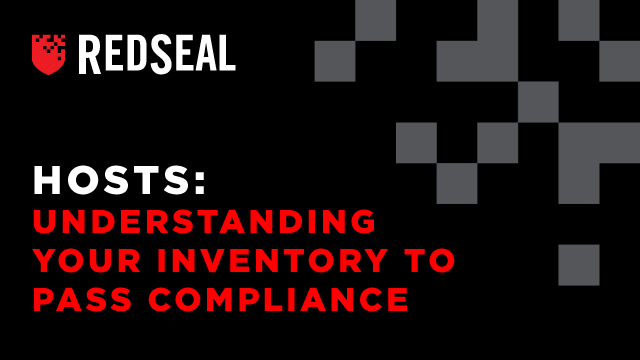 Hosts: Understanding Your Inventory to Pass Compliance