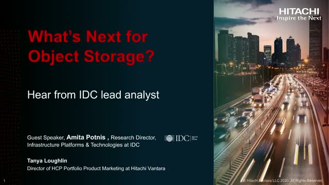 What's Next for Object Storage?