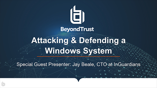 Attacking and Defending a Windows System