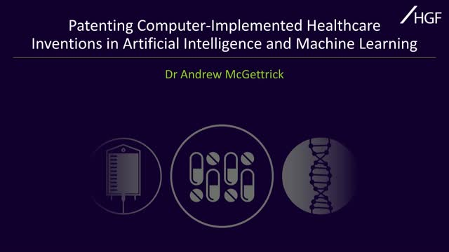 Patenting computer-implemented healthcare inventions in AI and machine learning