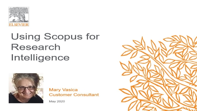 Using Scopus for Research Intelligence
