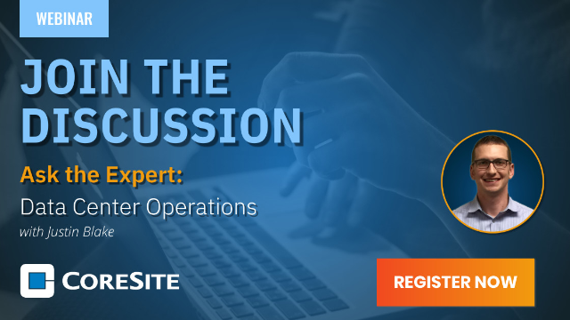 Ask the Expert: Data Center Operations