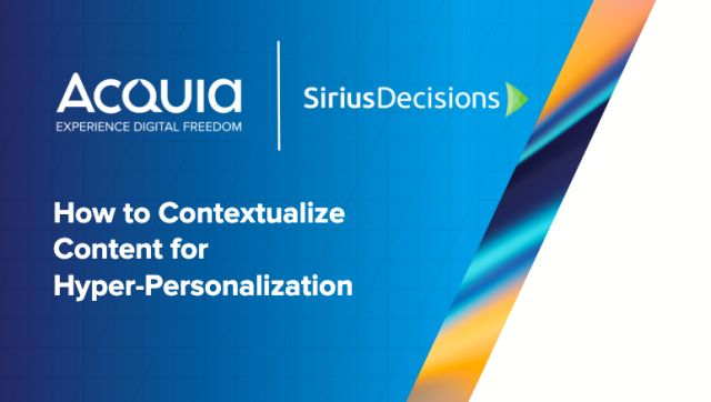 How to Contextualize Content for Hyper-Personalization