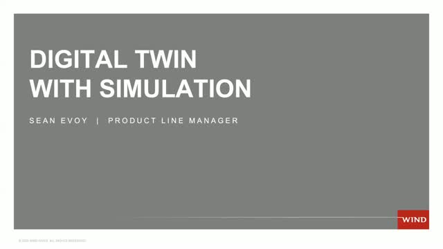 Digital Twin With Simulation