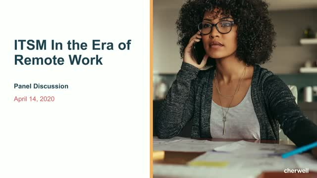 ITSM In the Era of Remote Work