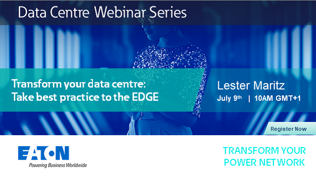 Transform your data centre: Take best practice to the EDGE