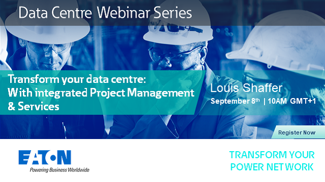 Transform your data centre: With integrated Project Management & Services