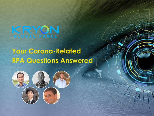 Kryon and Covid-19: Answers to Your Corona-Related RPA Questions