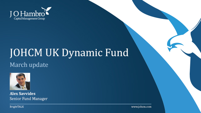 JOHCM UK Dynamic Fund: Savvides takes stock