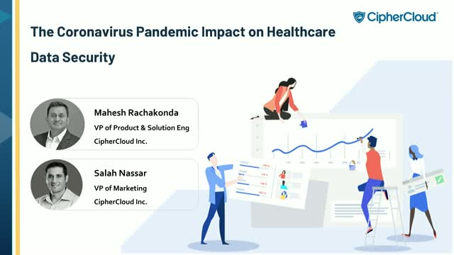 The Coronavirus pandemic impact on Healthcare Data Security - Case Study