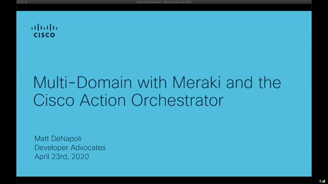Implementing Meraki Deployments with Cisco Action Orchestrator