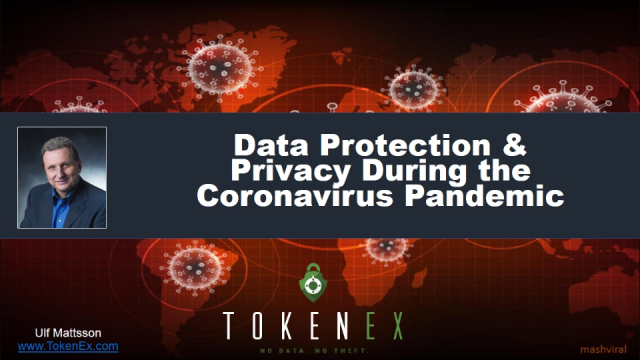 Data Protection & Privacy During the Coronavirus Pandemic