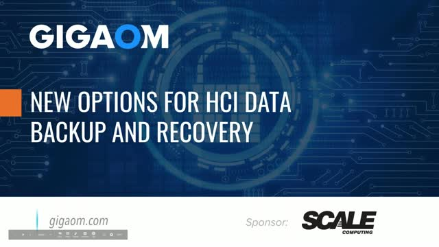 Tips For a New Approach to HCI Data Backup and Recovery