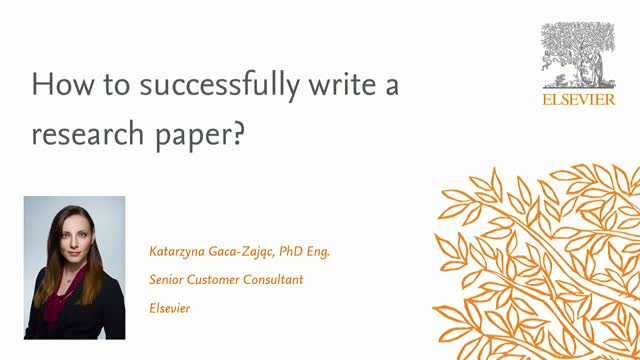 How to successfully write a research paper?