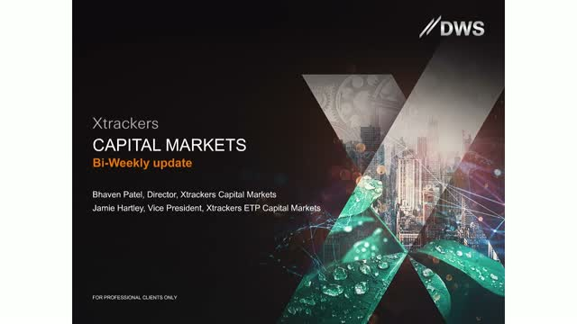 Xtrackers Capital Markets Bi-Weekly Update