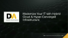 Modernize your IT with Hybrid Cloud & Hyper-Converged Infrastructure