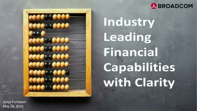Industry Leading Financial Capabilities with Clarity