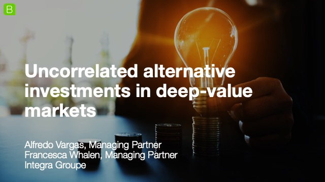 Uncorrelated alternative investments in deep-value markets