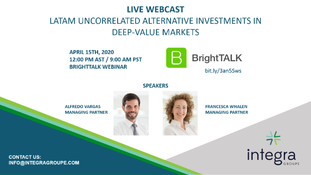 LATAM Uncorrelated Alternative Investments in Deep-Value Markets