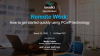 Q&A Session: Remote Work - How to get started quickly using PCoIP technology