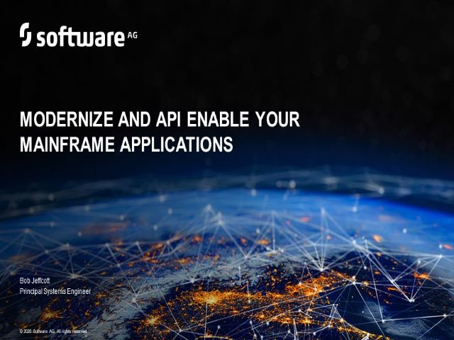 Modernize and API Enable your Mainframe Applications