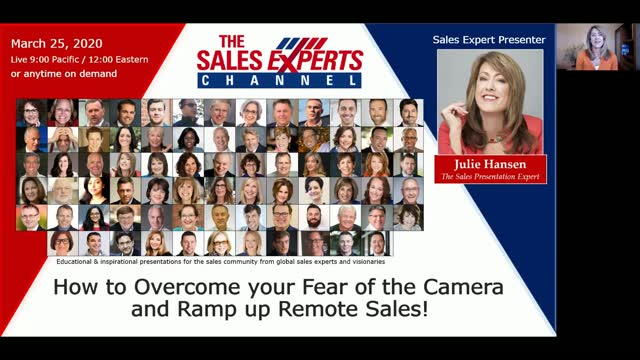 How to Overcome your Fear of the Camera and Ramp up Remote Sales!
