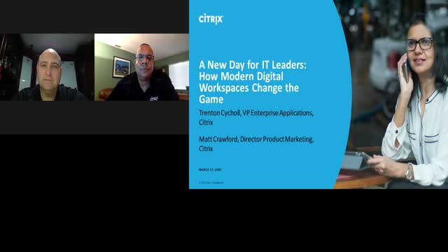 A new day for IT leaders: how modern digital workspaces change the game