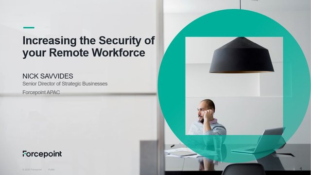 Increasing the security of your remote workforce