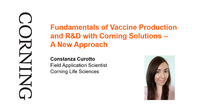 Vaccine Production and R&D with Corning Solutions – A New Approach