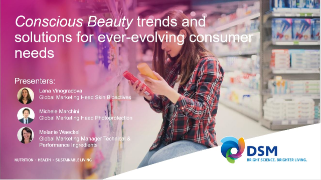New products to empower customers and consumers to make Conscious Beauty choices