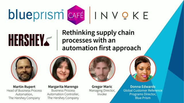 Hershey's | Rethinking supply chain processes with an automation first approach